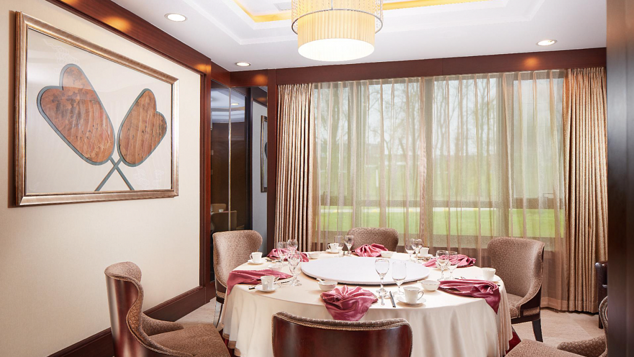 Opening of the VIP rooms of the Seasons сhinese restaurant